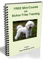 Get your FREE mini-course on training a Bichon Frise now